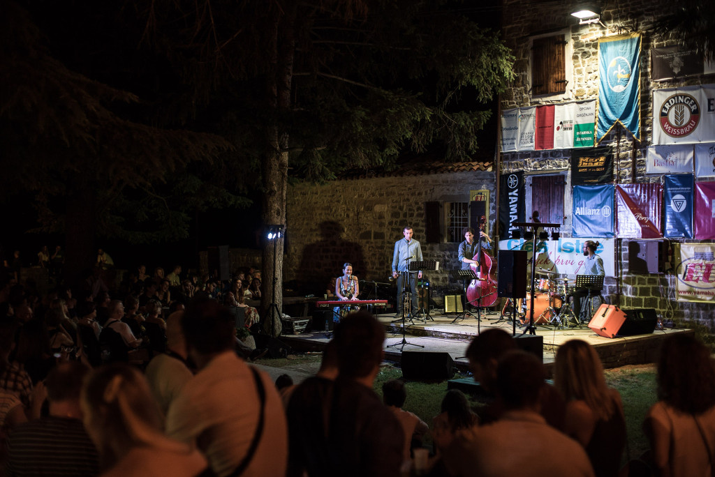 Lana Janjanin Quartet @ Jazz is Back Festival, Groznjan 2019